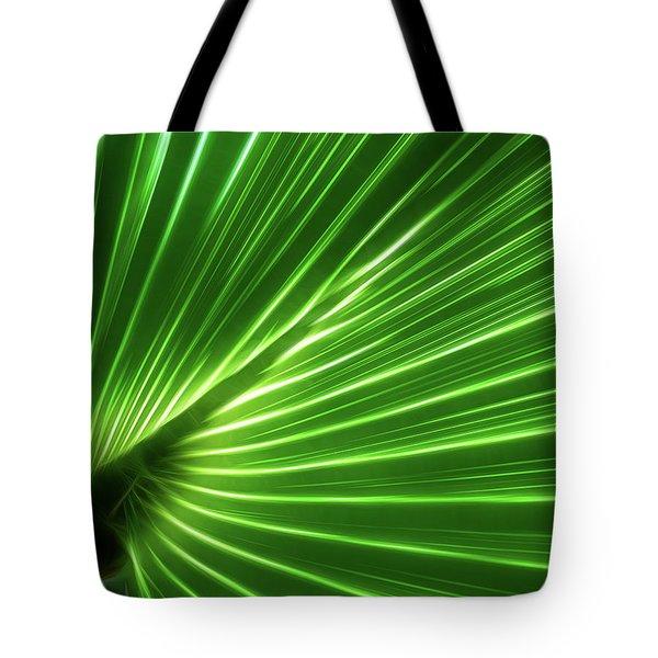 Glowing Palm Tote Bag