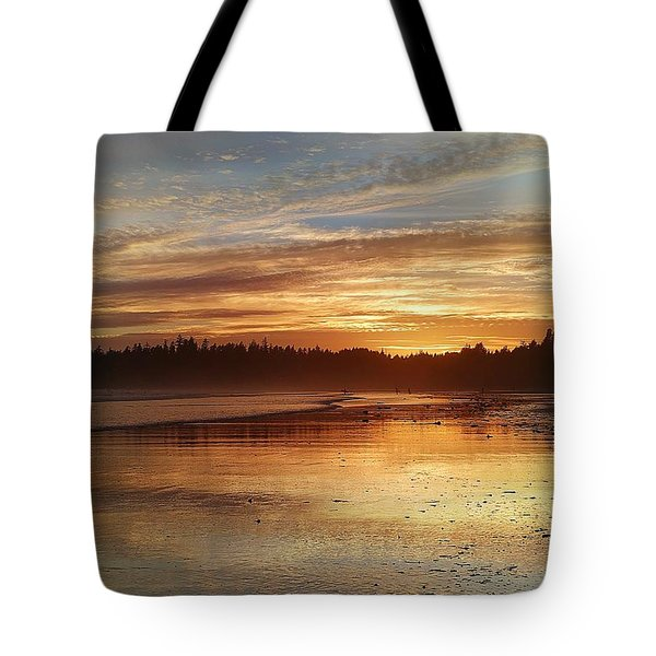 Long Beach I, British Columbia Tote Bag