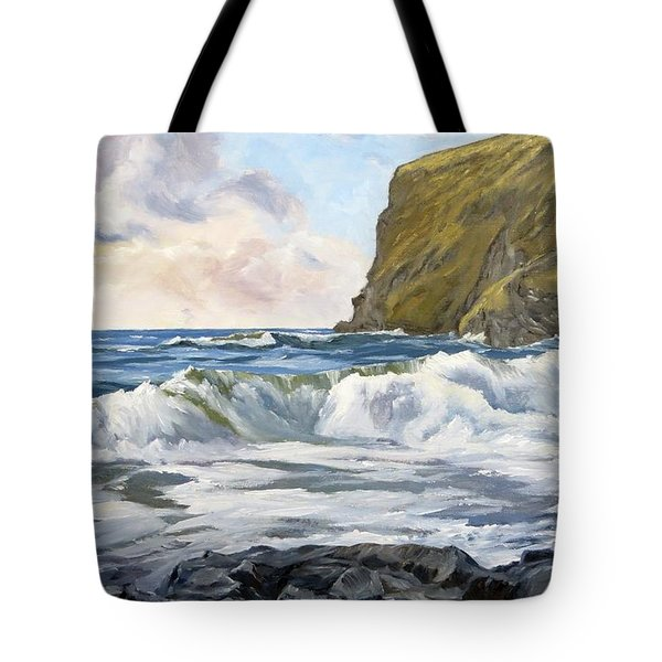 Glowing Sky At Pencannow Point Tote Bag