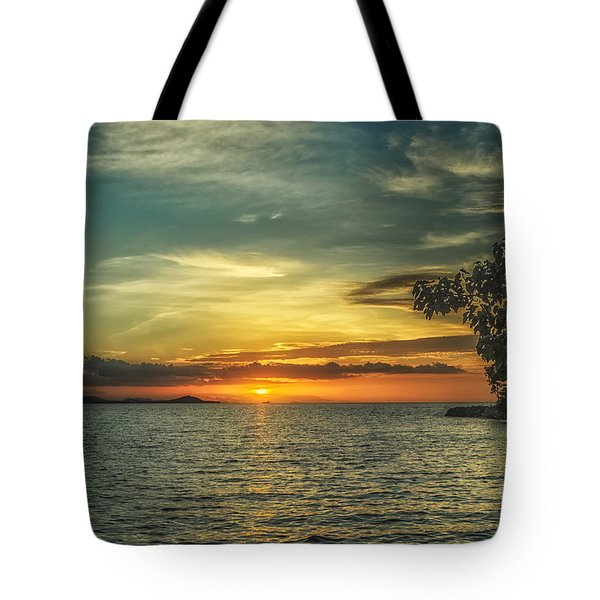 Glowing Sky Tote Bag