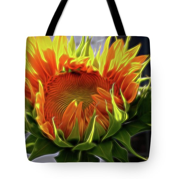 Glowing Sun Tote Bag