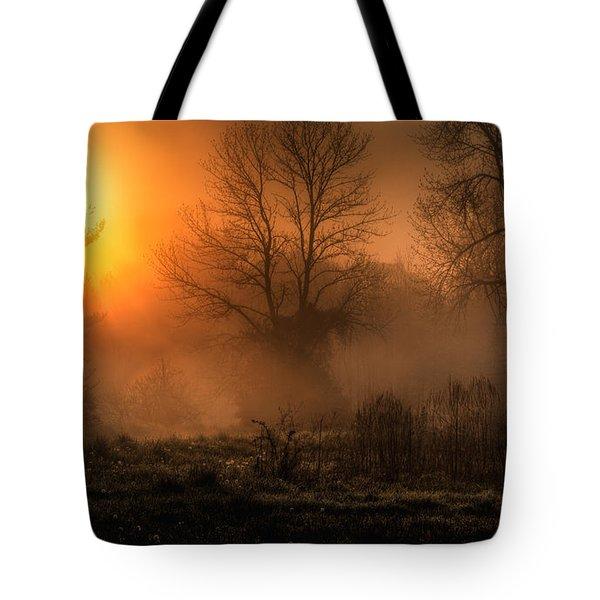Glowing Sunrise Tote Bag