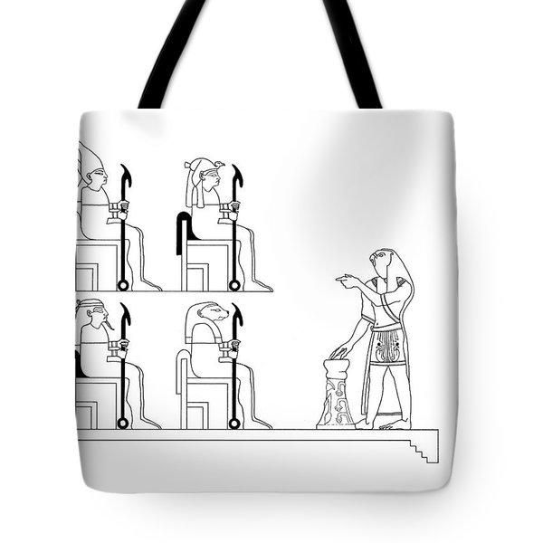 Glyph Class Tote Bag by Stan  Magnan