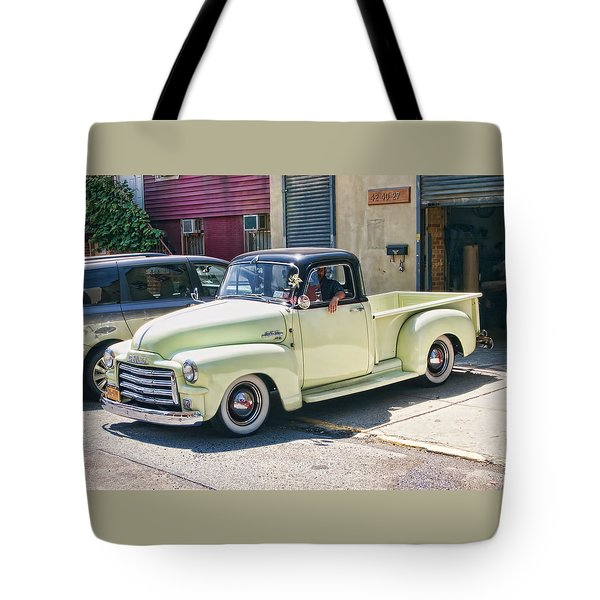 Tote Bag featuring the photograph Gmc1 by Steve Sahm