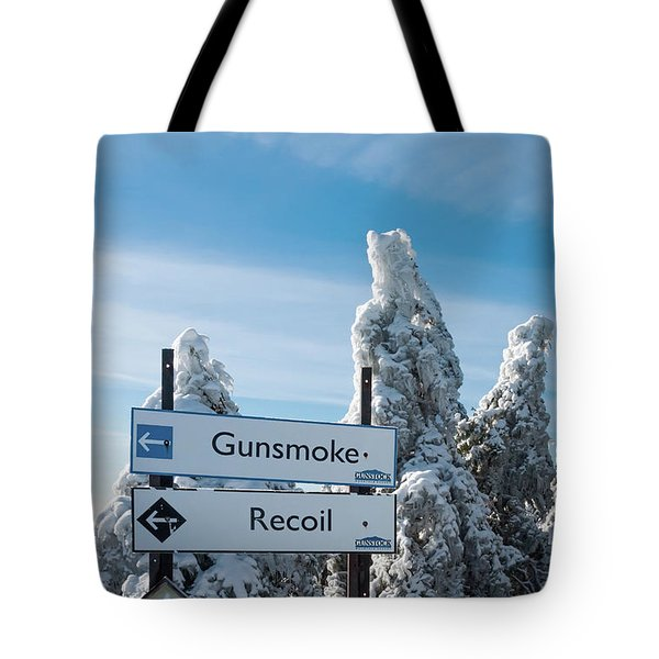 Tote Bag featuring the photograph Ice Covered Trees by Sharon Seaward
