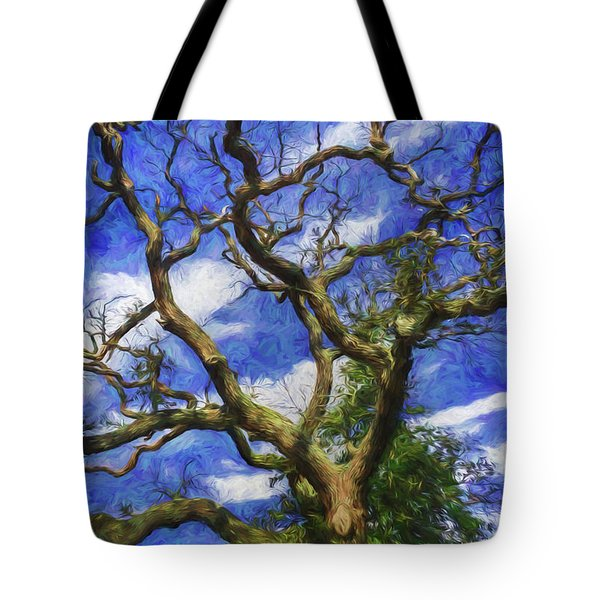 Starry Afternoon Tote Bag