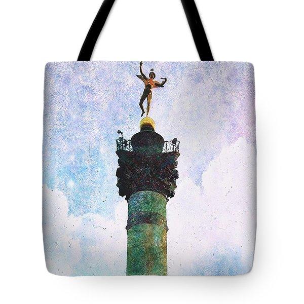 Genie De La Liberte Tote Bag by Aurella FollowMyFrench