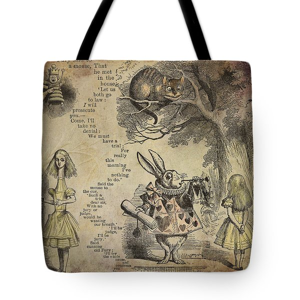 Go Ask Alice Tote Bag by Diana Boyd