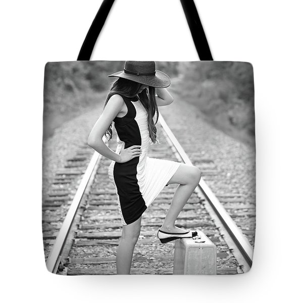 Tote Bag featuring the photograph Go Far by Barbara West