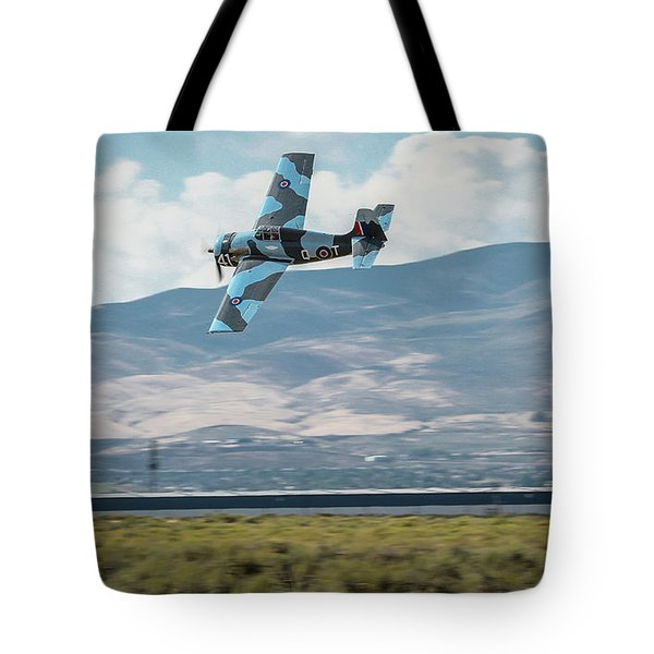 Tote Bag featuring the photograph Go Fast Turn Left Fly Low Friday Morning Unlimited Bronze Class by John King