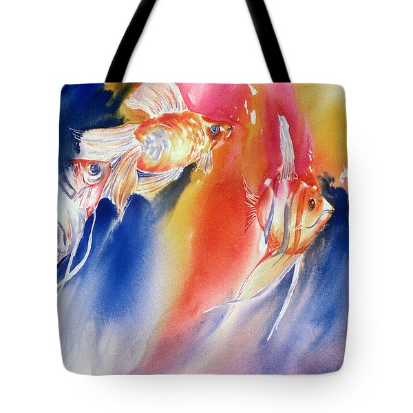 Go Fish Tote Bag by Tara Moorman