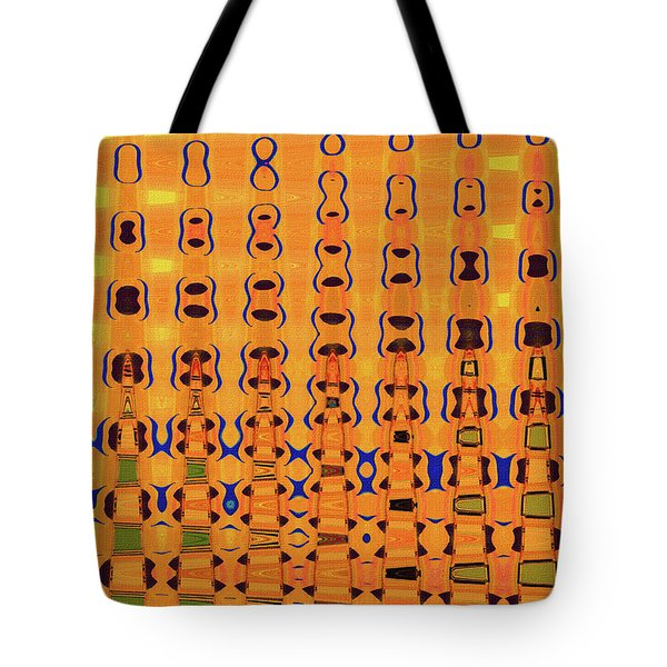 Go Fly A Kite Abstract# 3052wt Tote Bag