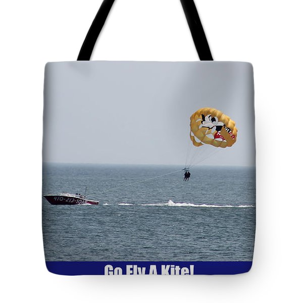 Go Fly A Kite Tote Bag by Robert Banach
