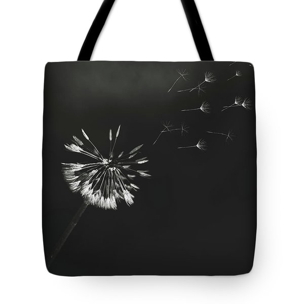 Go Forth Bw Tote Bag by Heather Applegate