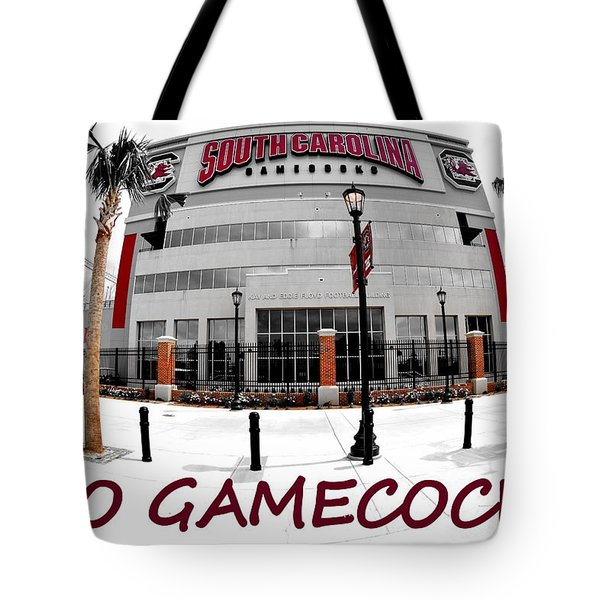 Tote Bag featuring the photograph Go Gamecocks by Lisa Wooten