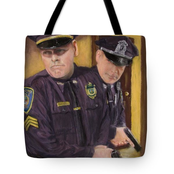 Tote Bag featuring the painting Go On Three...1....2.... by Jack Skinner