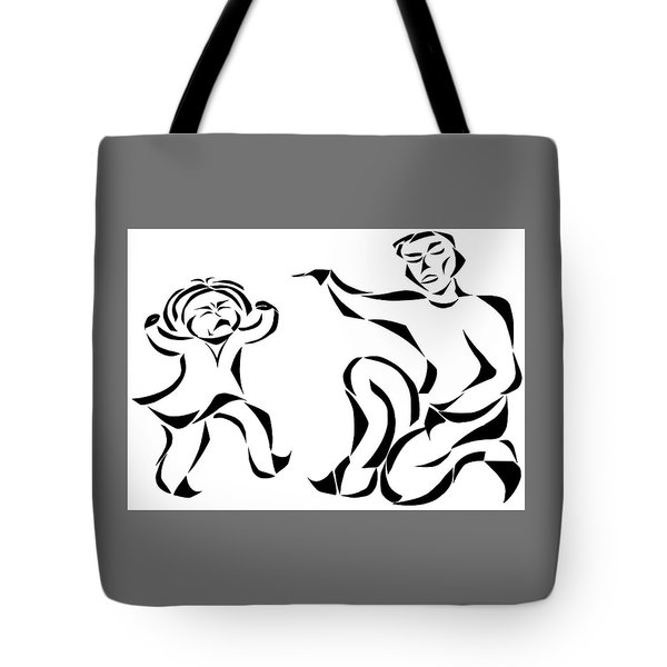 Go To Bed Tote Bag