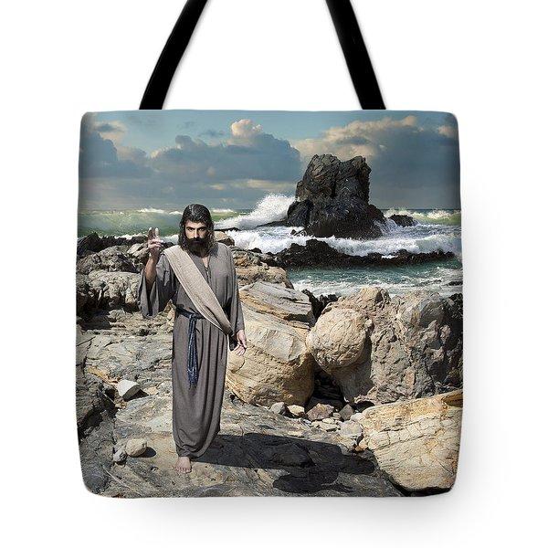 Go Your Faith Has Healed You Tote Bag
