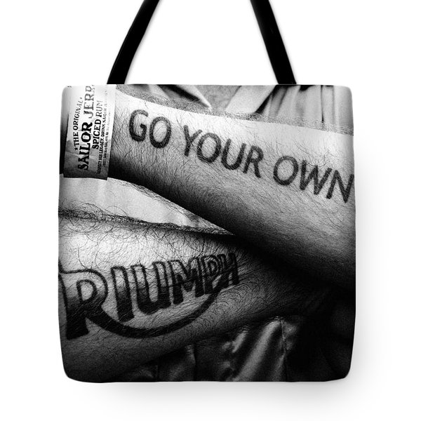 Go Your Own Way Tote Bag