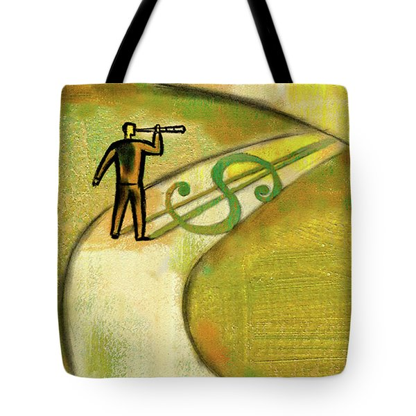 Tote Bag featuring the painting Goal by Leon Zernitsky