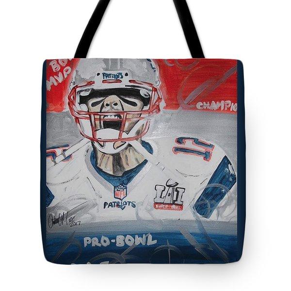 Goat Brady Tote Bag