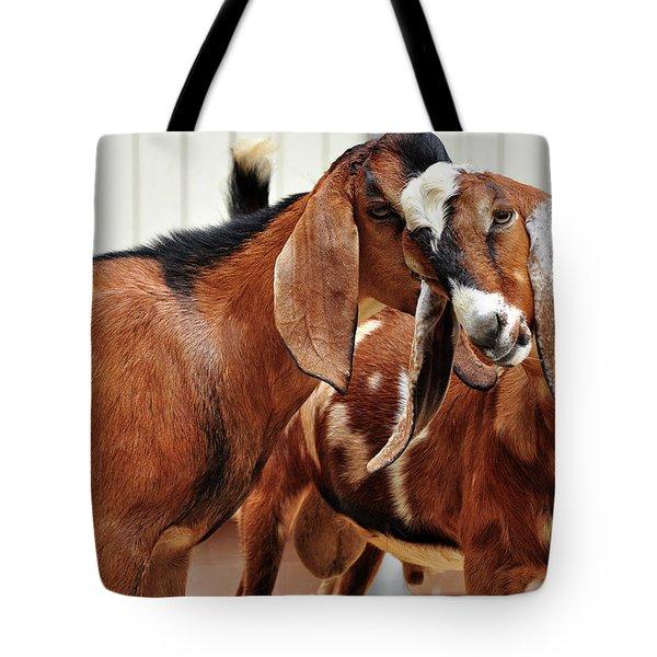 Goat Secrets Tote Bag