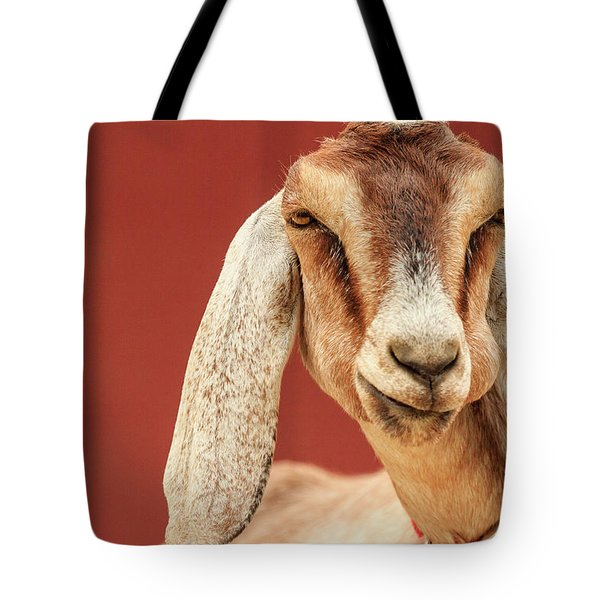 Goat With An Attitude Tote Bag