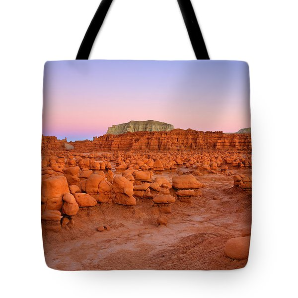 Goblin Glow Tote Bag by Mike  Dawson