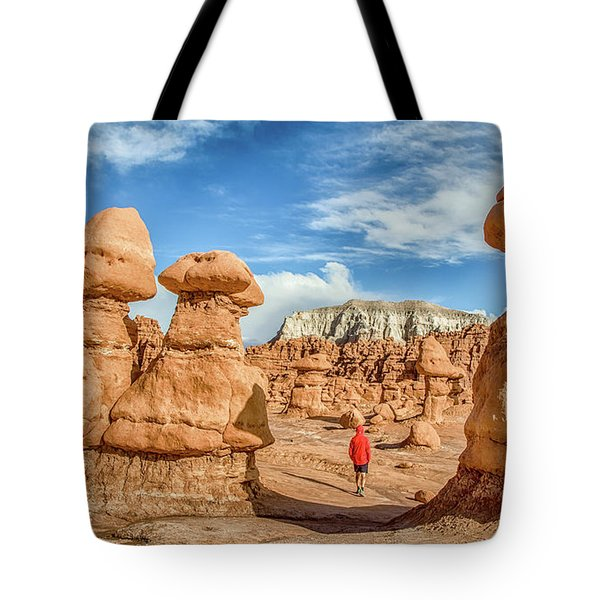 Goblin Valley State Park Tote Bag by JR Photography