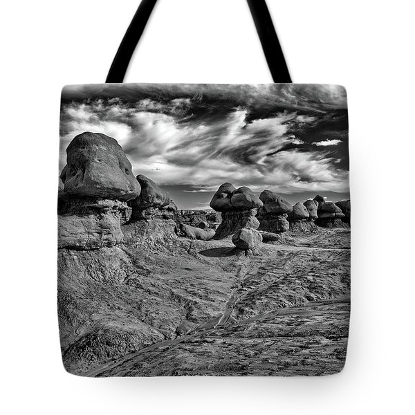 Goblins All In A Row Tote Bag