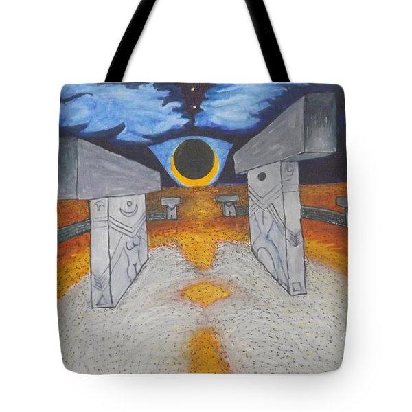 Goblitechi Vision Eclipse Tote Bag