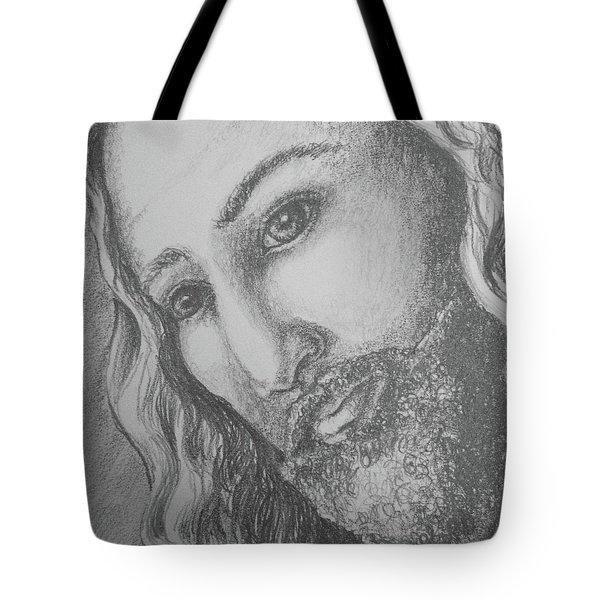 God Became Man Tote Bag
