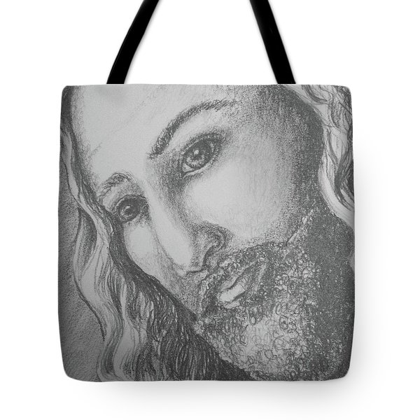 God Became Man Tote Bag