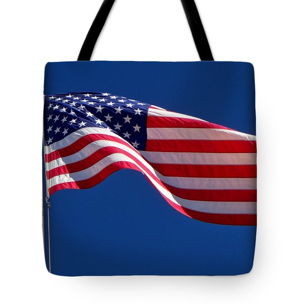 God Bless America Tote Bag by Betty Northcutt