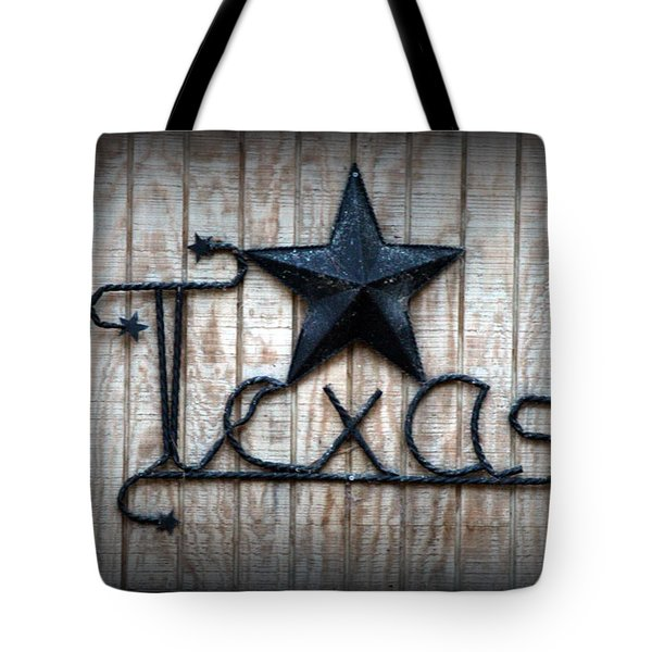 Tote Bag featuring the photograph God Bless Texas by Kathy  White