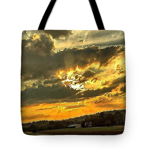 God Hand Tote Bag