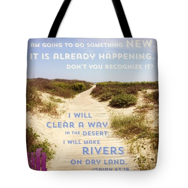 God Is Able To Make A Way Where There Tote Bag