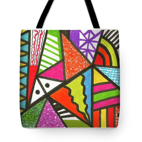 God Is Color Redux Tote Bag