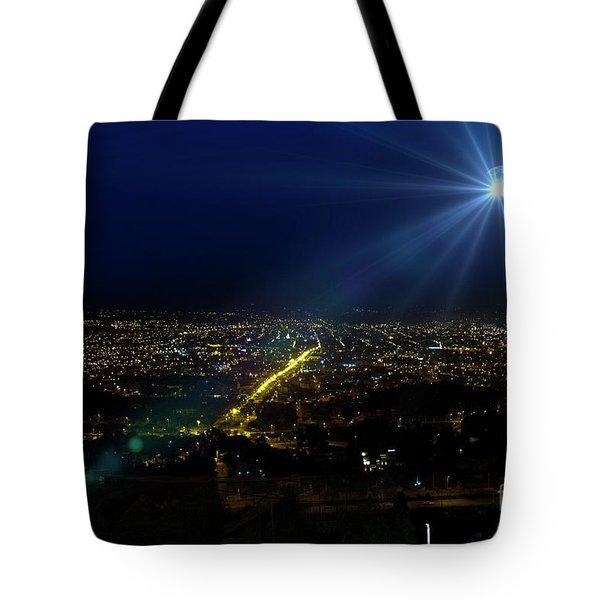 God Loves Cuenca Tote Bag by Al Bourassa