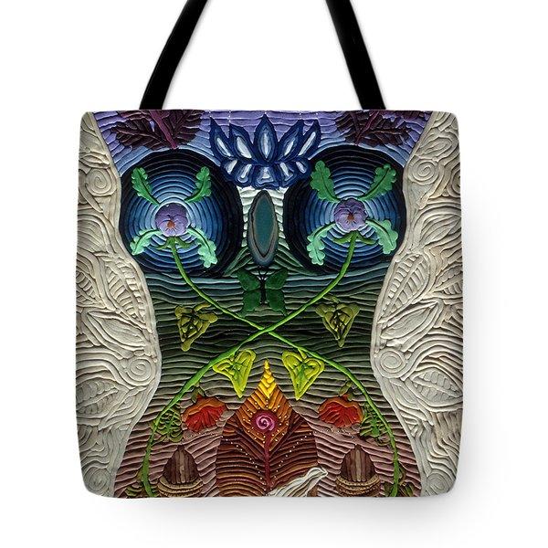 Godbody Tote Bag by Arla Patch