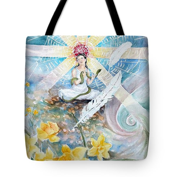 Goddess Awakened Tote Bag