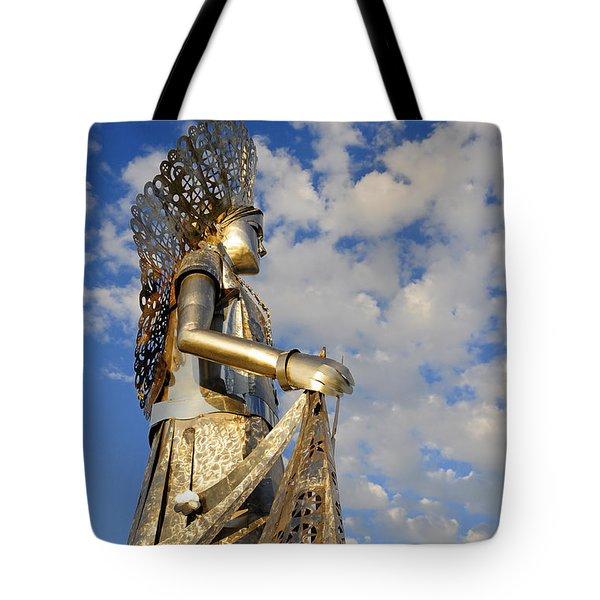 Goddess Isthmus Tote Bag by Skip Hunt