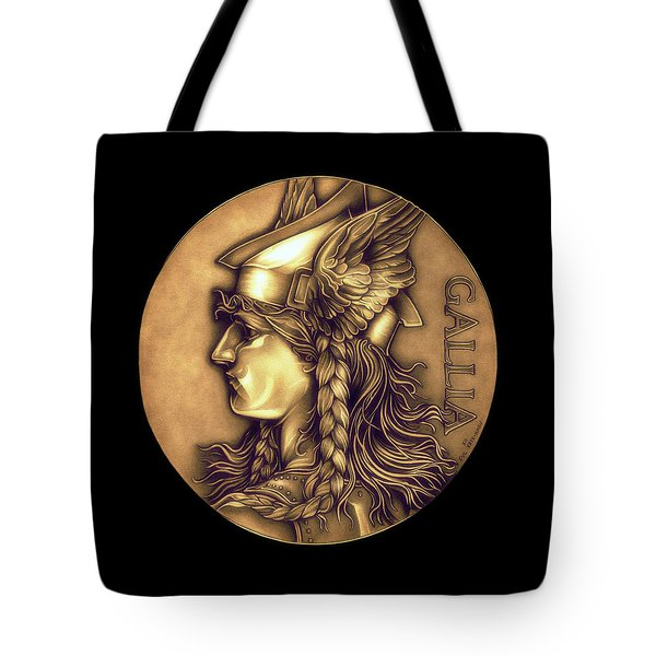Goddess Of Gaul Tote Bag by Fred Larucci