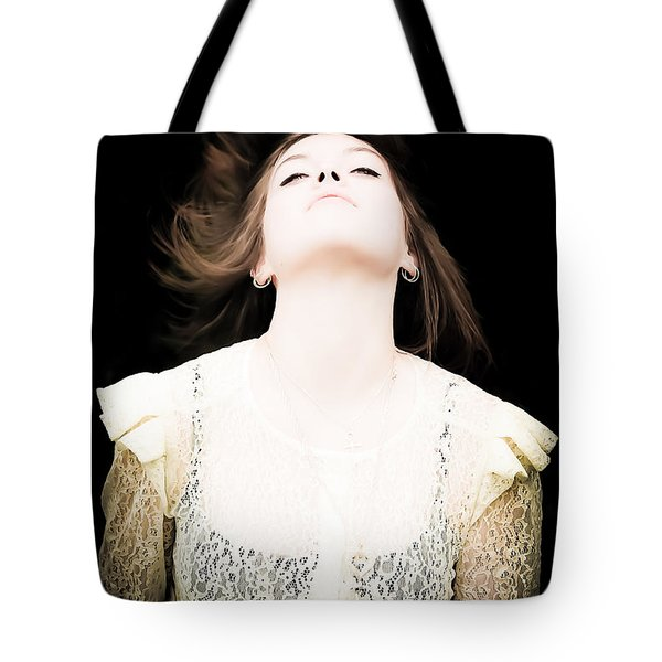 Goddess Of The Moon Tote Bag by Loriental Photography