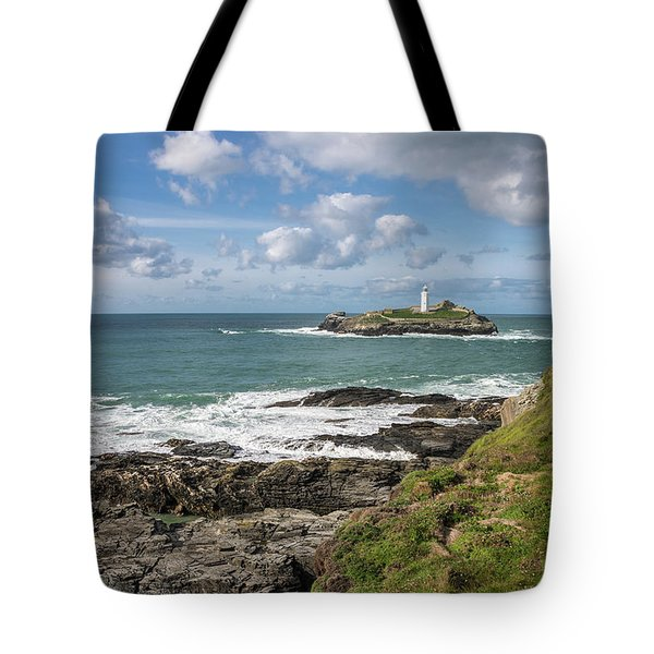 Godrevy Lighthouse 3 Tote Bag