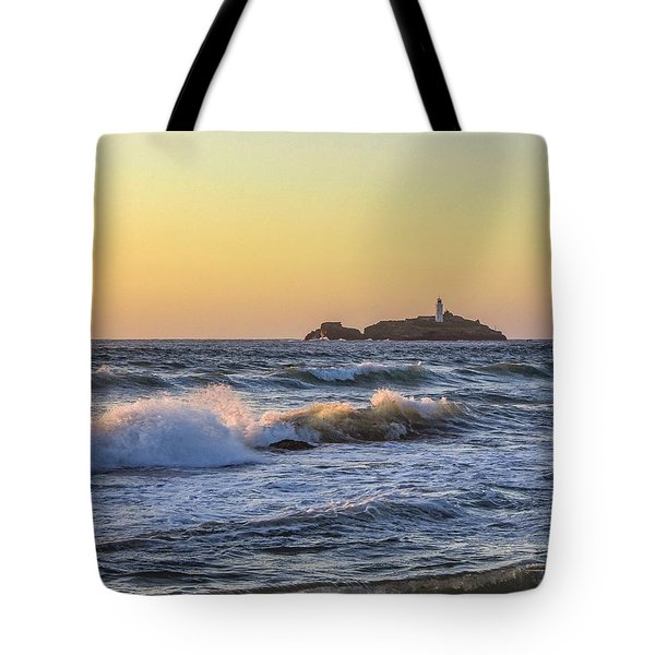 Godrevy Lighthouse  Tote Bag