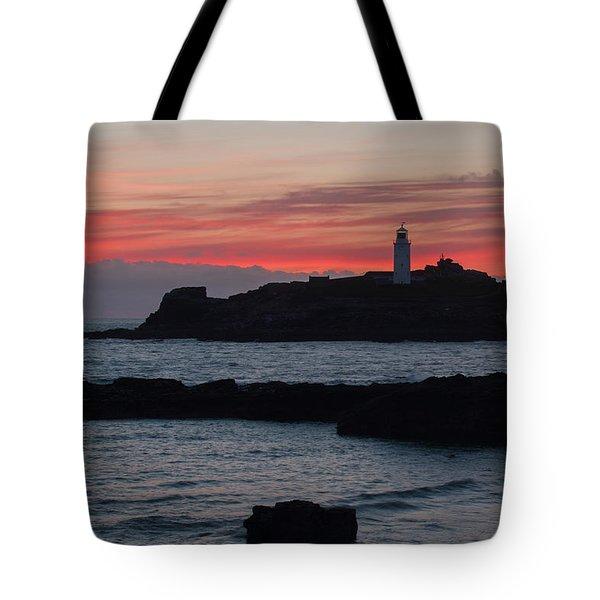 Godrevy Lighthouse Tote Bag