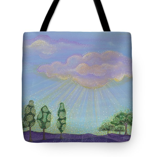 Tote Bag featuring the painting God's Grace by Tanielle Childers
