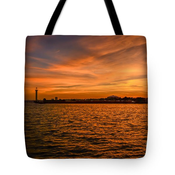 God's Grand Show Tote Bag by Brian Wright