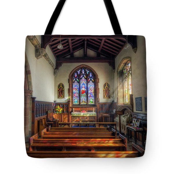 Tote Bag featuring the photograph Gods Light by Ian Mitchell